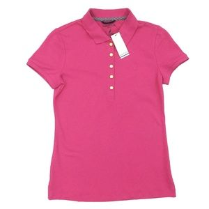 Nautica Slim Fit Polo Shirt with Gold Buttons